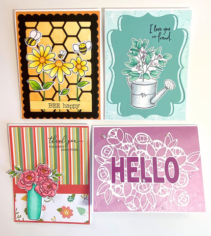 Card Kit: 4.3 - Flowers In Bloom Card Kit