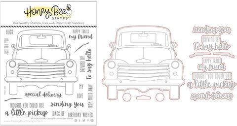 Honey Bee Big Pickup Cab Stamp & Die Bundle