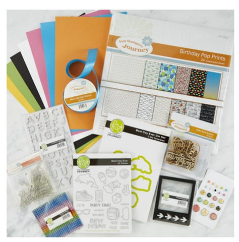 Spellbinders Birthday Wishes Project Kit - SPECIAL OFFER