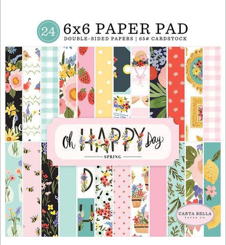 Carta Bella Oh Happy Day 6x6 Paper Pad