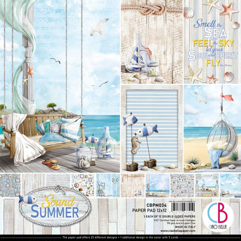 Ciao Bella The Sound of Summer Paper Pack