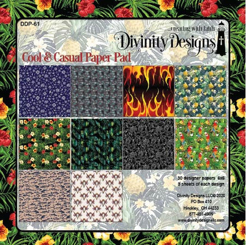 Divinity Designs Cool & Casual 6x6 Paper Pad