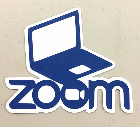 Covid-19 Diecut Collection - Zoom