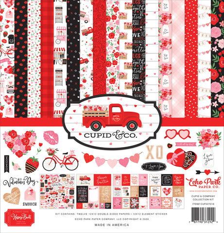 Echo Park Cupid & Co. Collection Paper Pack