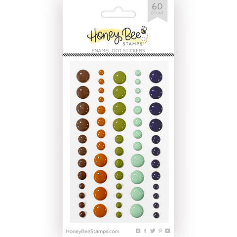 Honey Bee Enamel Dots - Great Outdoors