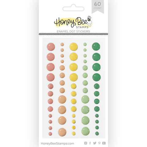 Honey Bee Enamel Dots - Spring Fling