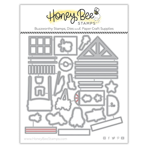 Honey Bee Farm House Add-On Dies