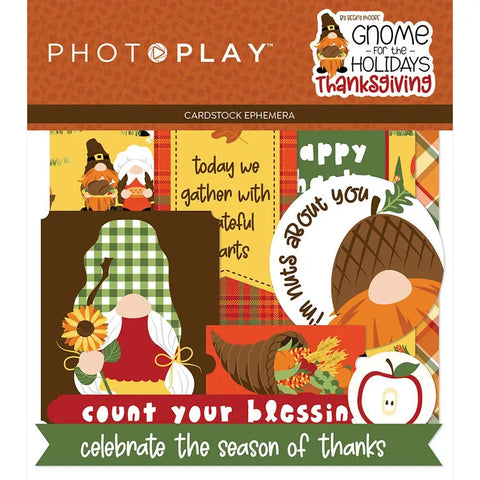 PhotoPlay Gnome for the Holidays:  Thanksgiving Ephemera