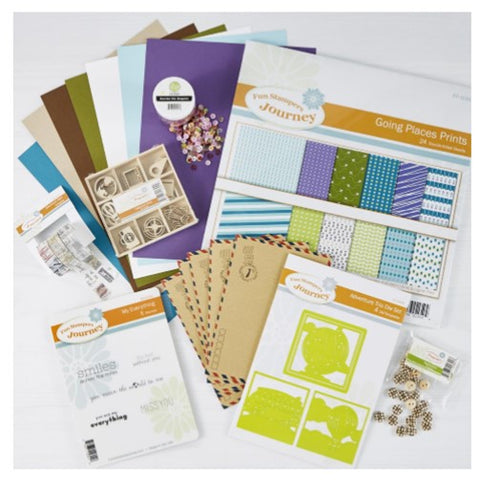 Spellbinders Going Places Project Kit - SPECIAL OFFER