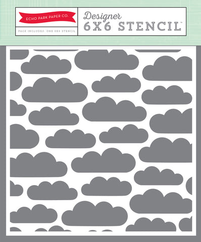 Carta Bella Clouds Stencil