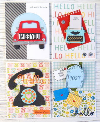 Card Kit: 5.0 - Just A Note Card Kit - Free Shipping
