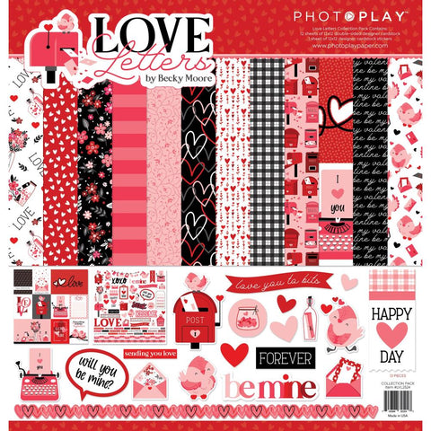 PhotoPlay Love Letters Paper Pack
