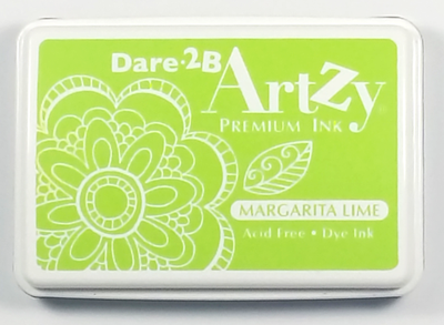 Dare 2B Artzy Premium Ink Pad - Margarita Lime