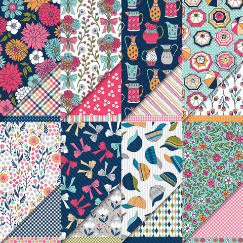 "Dare 2B Artzy 12"" x 12"" Summertime Petals Collection Variety Pack Pattern Paper"