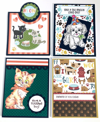 Card Kit: 4.4 - Pet Lovers Card Kit - Free Shipping