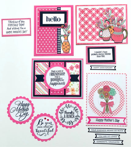 Card Kit: 4.6 - Mix-Up Match-Up Card Kit - Free Shipping