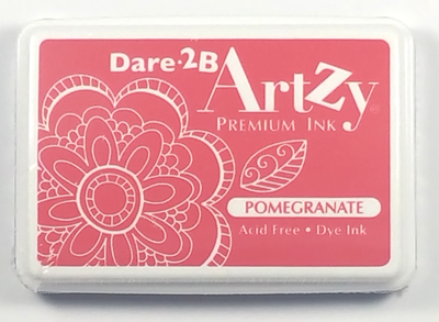 Dare 2B Artzy Premium Ink Pad - Pomegranate