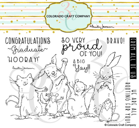 Colorado Craft Company Proud of You Stamp/Die Bundle