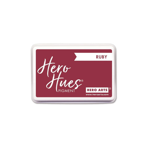 Hero Arts Pigment Ink Pad - Ruby