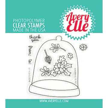 Avery Elle Cloche Stamp & Die Bundle