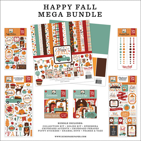 Echo Park Happy Fall Mega Bundle