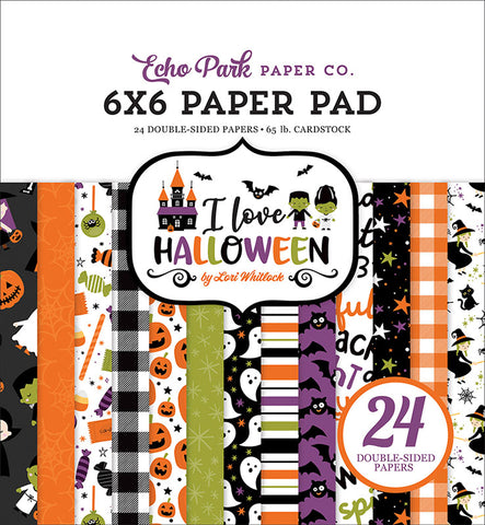 Echo Park I Love Halloween 6x6 Paper Pack