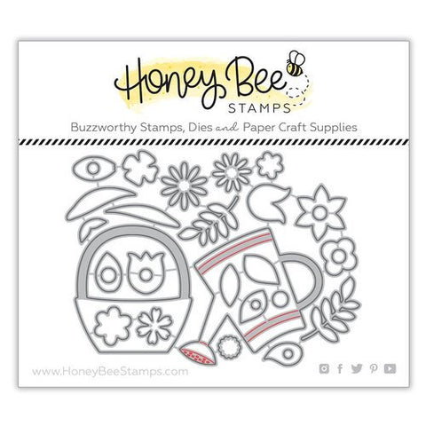 Honey Bee Spring Bouquet Dies