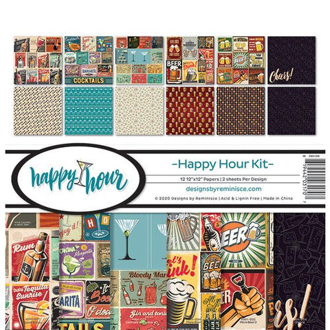 Reminisce Happy Hour Collection Paper Pack