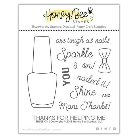 Honey Bee Shine On Stamp & Die Bundle