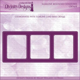 Divinity Designs Slimline Rounded Window Die