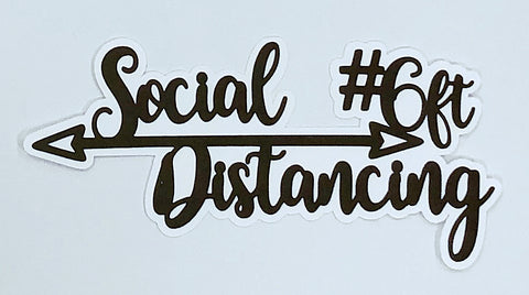 Covid-19 Diecut Collection - Social Distancing