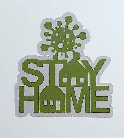 Covid-19 Diecut Collection - Stay Home (Green)