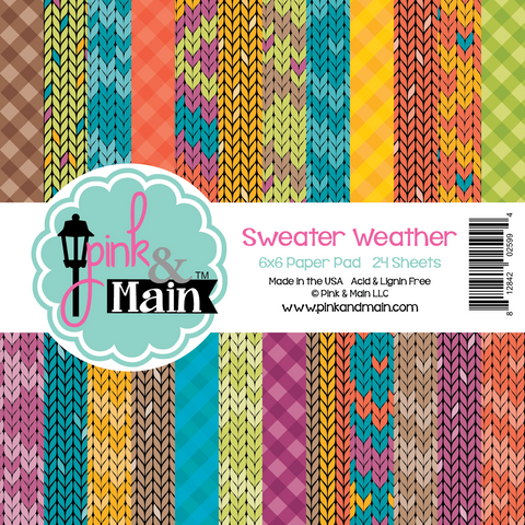 Pink & Main Sweater Weather 6x6 Paper Pad