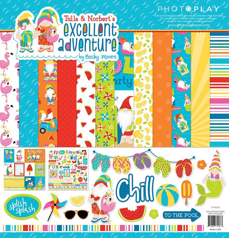 PhotoPlay Tulla & Norbert Excellent Adventure Paper Pack