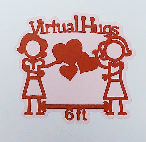 Covid-19 Diecut Collection - Virtual Hugs