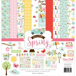 Echo Park Welcome Spring Collection Paper Pack