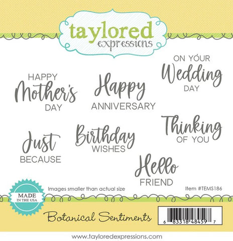 Taylored Expressions Botanical Sentiments