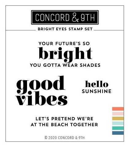 Concord & 9th Bright Eyes Stamps