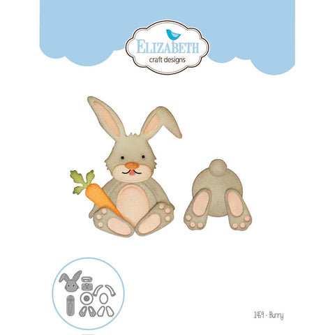 Elizabeth Craft Designs Bunny Dies