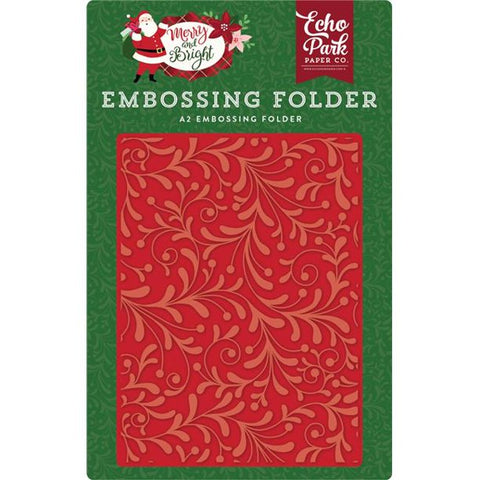Echo Park Holiday Flourish Embossing Folder