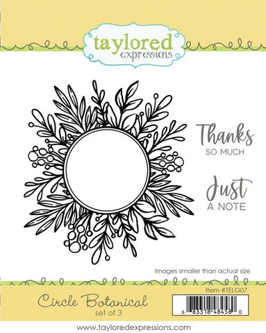 Taylored Expressions Circle Botanical