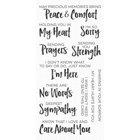 My Favorite Things Deepest Sympathy Stamps