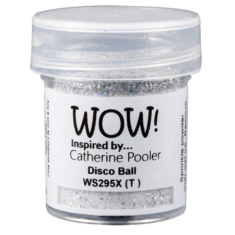WOW! Disco Ball Embossing Powder