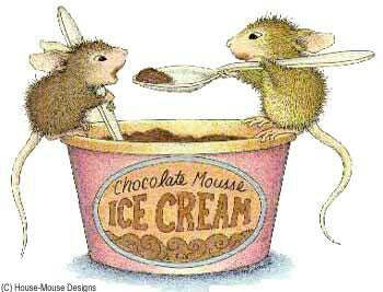 Stampendous House Mouse Stamp - Mousse Mice
