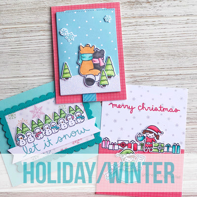 Adult Class: 9.1 - Oct. 17  11:00-2:00  - Lawn Fawn - Winter & Holiday Cards
