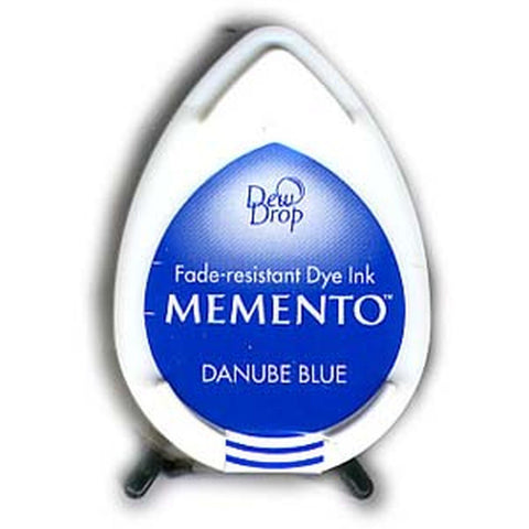 Memento Dew Drop Ink Pad - Danube Blue