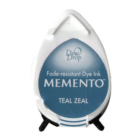 Memento Dew Drop Ink Pad - Teal Zeal