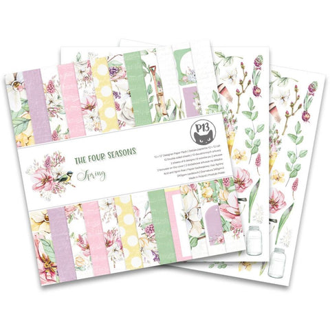 P13 - The Four Seasons Collection - Spring 12x12 Paper Pack