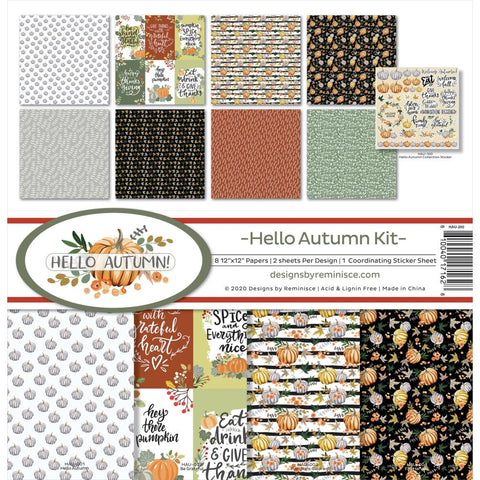 Reminisce Hello Autumn Collection Paper Pack