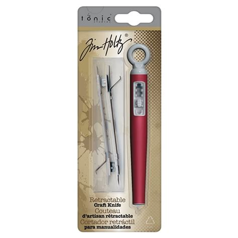 Tonic Studios Tim Holtz Retractable Craft Knife